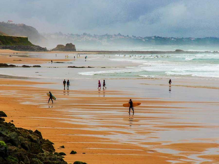 BIARRITZ Playa Surf Biarritz Francia